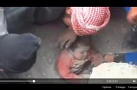 GAZA    PALESTINE    ENFANT MIRACULÉ