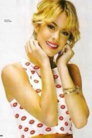Martina qui pose pour Seventeen
