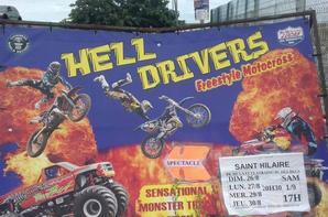 """""""Reportage Numéro 2 Lucrio été 2018:""""supplément La compagnie des Hell Drivers a St Hilaire de Riez!."""""""