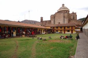 """30/09/2013 - Arrivée au nombril du monde """"Cuzco"""" !! Visite de Saqsaywaman,Quenqo, etc... Au milieu des vestiges des Incas, que du bonheur!!!"""