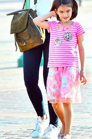 Suri & sa mère à Disneyland