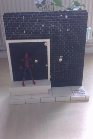 decor x men et spiderman