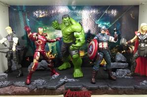 diorama avengers