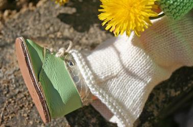 Agathe en vert amande