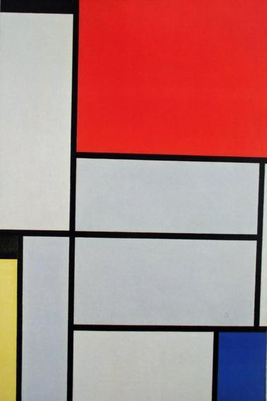Quand Emilie expose Mondrian