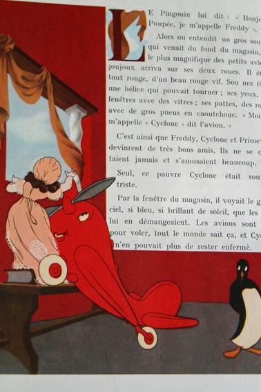 Petits livres anciens publiés par les laines Pingouin