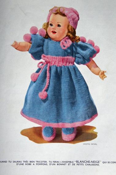 """ J'apprends à tricoter """