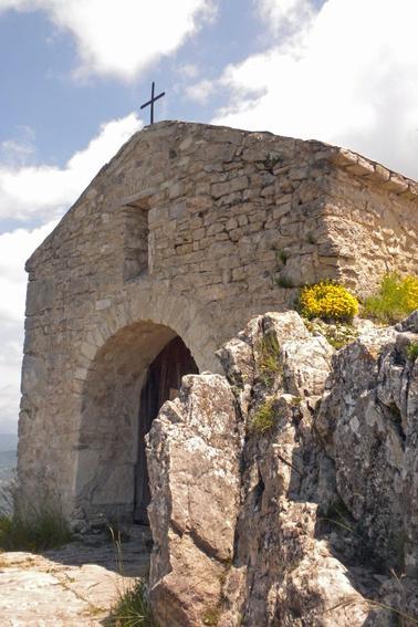 Chapelle Saint Médard - Forêt de Saoû