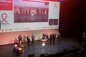 Line Renaud - Conférence de presse pour le lancement du Sidaction 2014