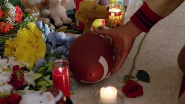 "Glee saison 5 : ""The Quaterback"" Mc Kinley lui rend Hommage !!"