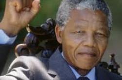 Hommage, Nelson Mandela par Béa pour lorraineblog