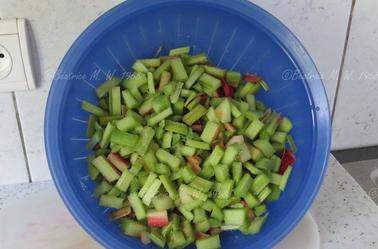 Tarte à la rhubarbe par Béa pour lorraineblog