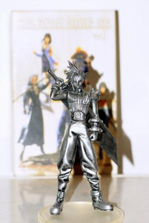 Cloud Strife - Monochrome : Final Fantasy Trading Arts Vol.1