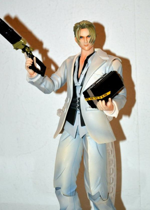 "Play Arts Kai : No.1 "" Rufus Shinra """