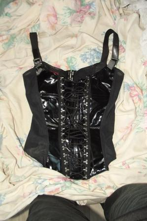 Bustier Faux Corset Sexy