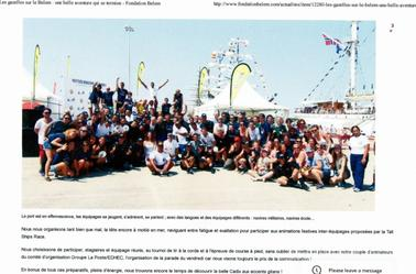 suite des article du belem