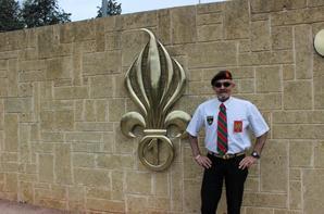 à la Légion Etrangere