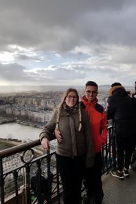 Notre premier jour de voyage sur Paris