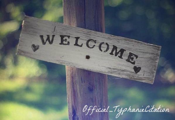 Mes Visiteurs, bienvenue ♥
