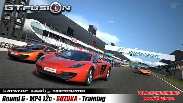 Gran Turismo World Championship GTfusion Round 6