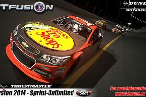 GTfusion Nascar Sprint Unlimited race pictures