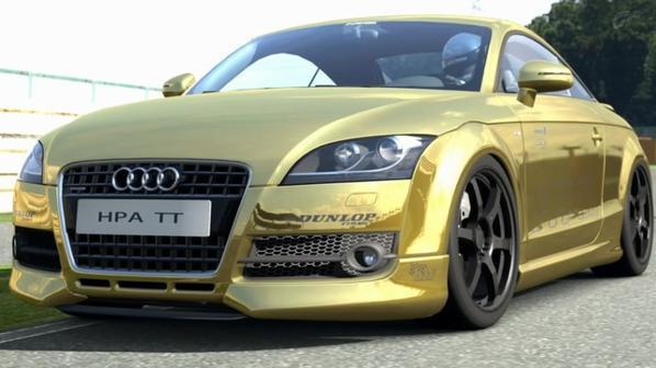 GTfusion Audi TT HPA at Tsukuba