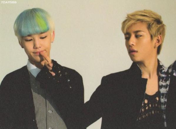 Daehyun et Zelo♥