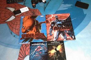 petite collection entre batman & spider-man mes 2 chouchou ^^