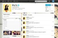 Shy'm sur twitter
