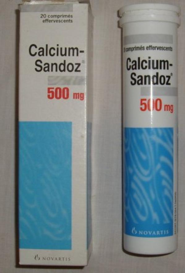 LE CALCIUM SANDOZ