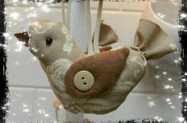 Petit Oiseaux porte bonheur