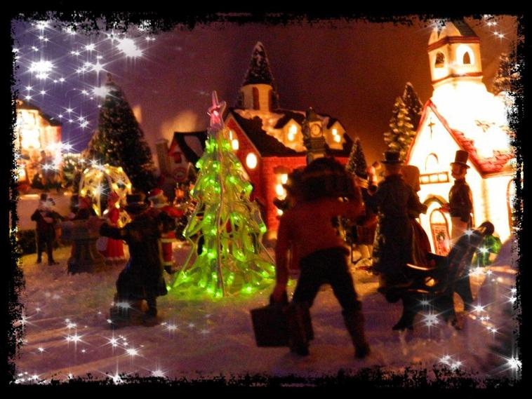 Village de Noël...