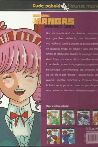 Dessine les mangas - Shojo