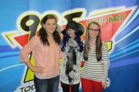 Cher Lloyd with ur love radio tour