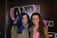 Cher Lloyd with ur love radio tour