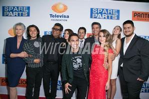 Esai Morales à l'avant-première de Spare Parts