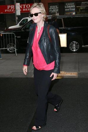 """Jane Lynch au Talk Show """"Today"""""""