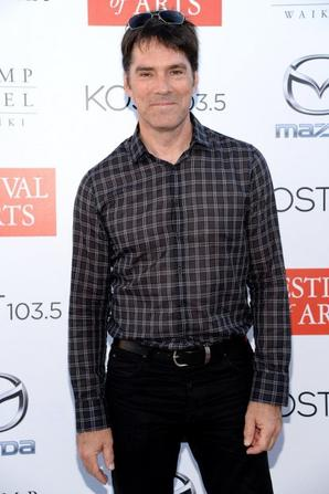 Thomas Gibson, Joe Mantegna, Kirsten Vangness, Aisha Tyler, Paget Brewster au Festival Of Arts Celebrity