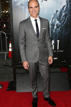 """Michael Kelly à la Premiere of Universal Pictures' de """"Everest""""."""