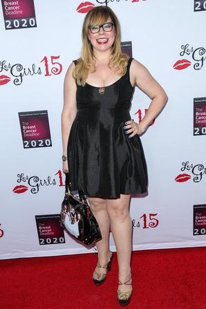 "Kristen Vangsness au ""Les Girls Cabaret"""
