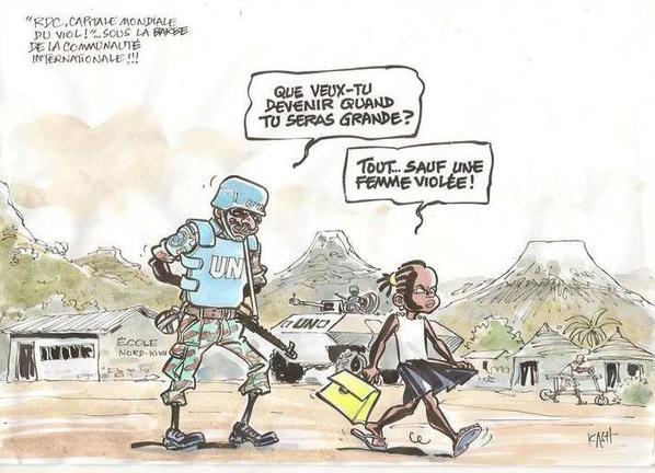 Justice, paix, travail? Viol, guerre, chômage!