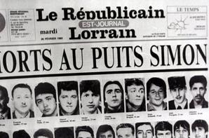 30 ans de la catastrophe du  puits simon