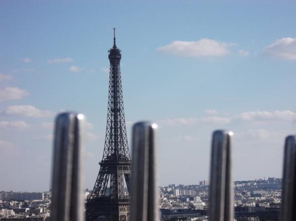 La Tour Eiffel ( de l'Arc de Triomphe )