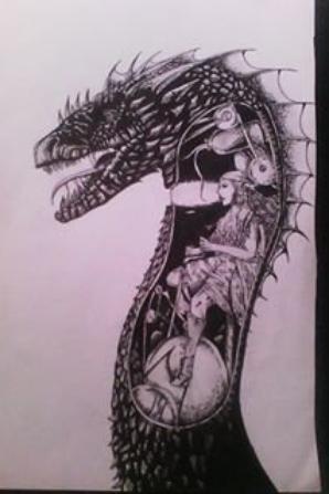 Et voici mes 3 derniers dessins~. Maintenant il va falloir attendre que je finisse mon bac afin de continuer à en faire d'autre T^T