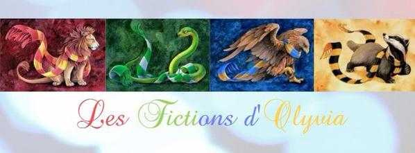 Les Fictions d'Olyvia - Couverture Harry Potter