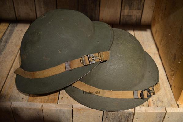 Casque M1917A1  Tabors Goum Goumier Combats des Hautes Vosges