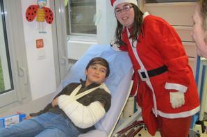 Noel 2013 à l'hôpital Louis Rafalli