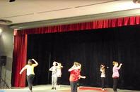 Démo de Street Dance à la salle des fêtes d'Embrun