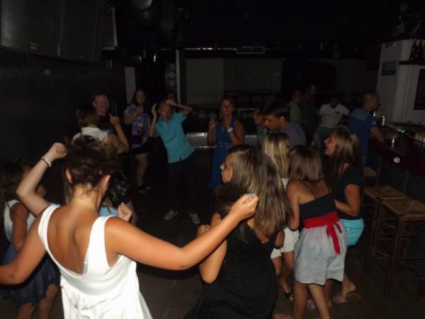 GRECE 2013: MERCREDI 24 JUILLET SURPRISE!! SOIREE AU KATOI NIGHT CLUB