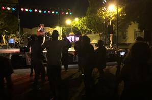 Première soirée à St Auban